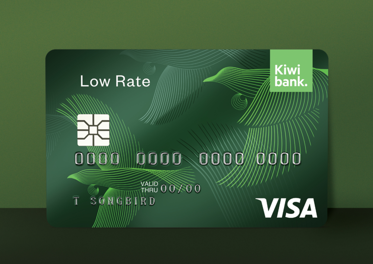 Kiwibank low rate visa