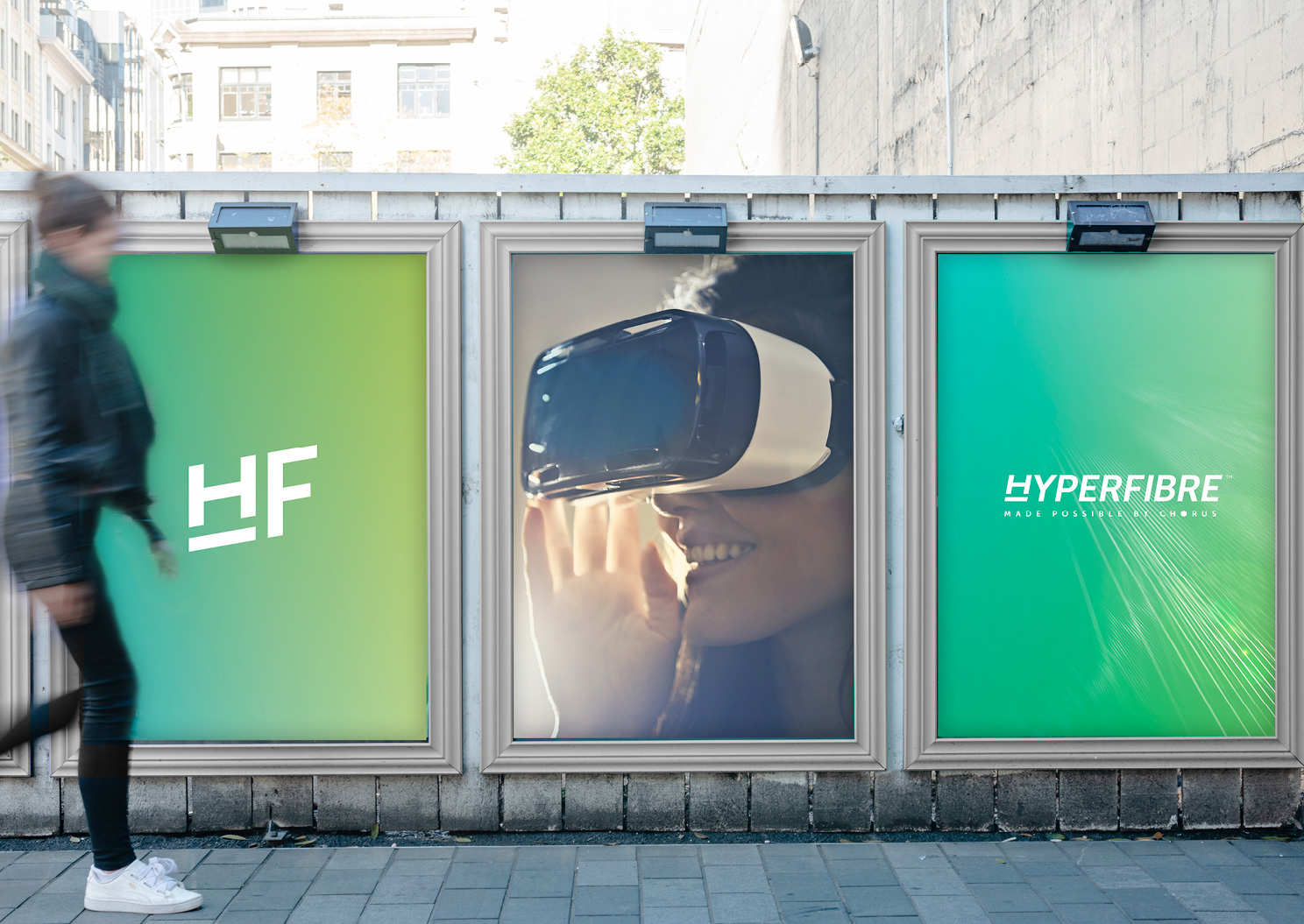 Hyperfibre street posters